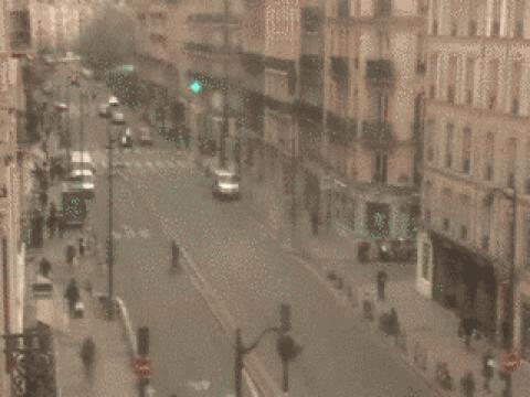 Paris webcam, Rue de Rivoli