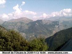 Oisans webcam, monts Oisans