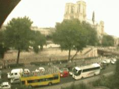 Paris webcam, Notre Dame