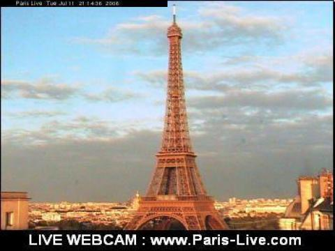 Paris Webcam, Low Eiffel Tower