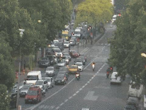 Paris webcam, Porte de Clichy