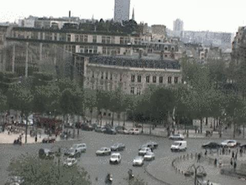 Paris webcams, Place de l'Étoile